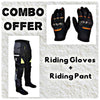 Laundry Service - Pack of 2 - Moto Gloves and Pants