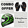 Laundry Service - Pack of 2 - Moto Gloves and Helmet