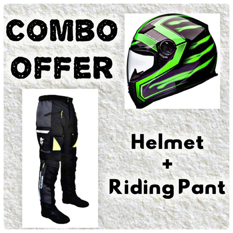 Laundry Service - Pack of 2 - Moto Helmet and Pants
