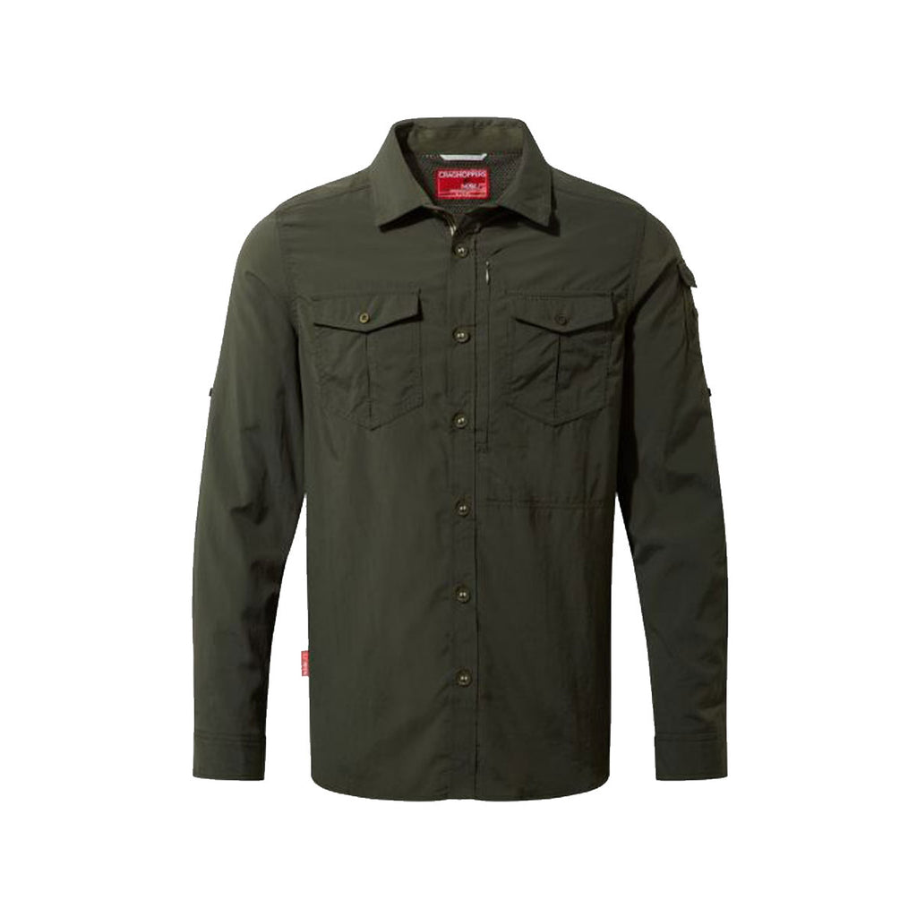 Nosilife Adventure LS Shirt Dark Khaki