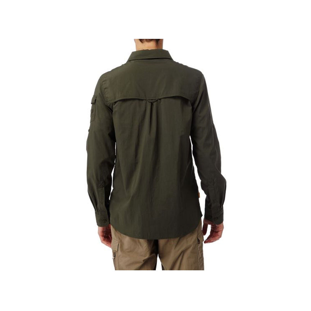 Nosilife Adventure LS Shirt - Dark Khaki