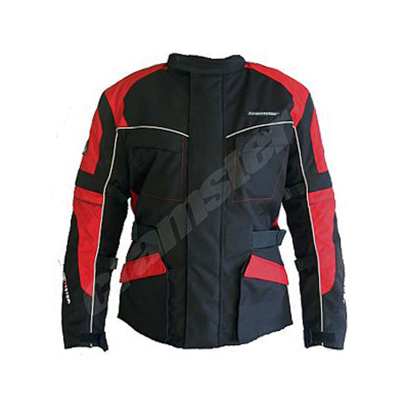 K2K 2.0 - Enduro Touring Jacket - Black/Red