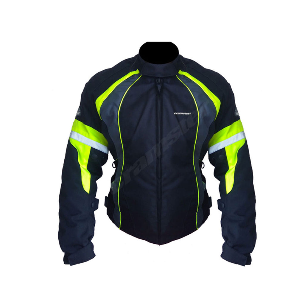 Dyna - Women - Riding Jacket - Black/Green