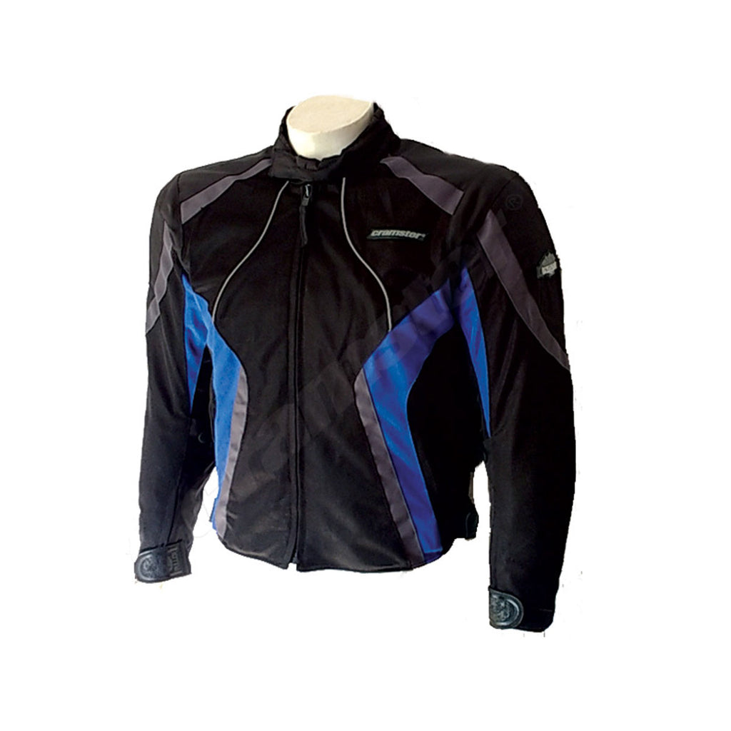 Breezer 4S - (3 IN 1) - Mesh Riding Jacket - Black/Blue