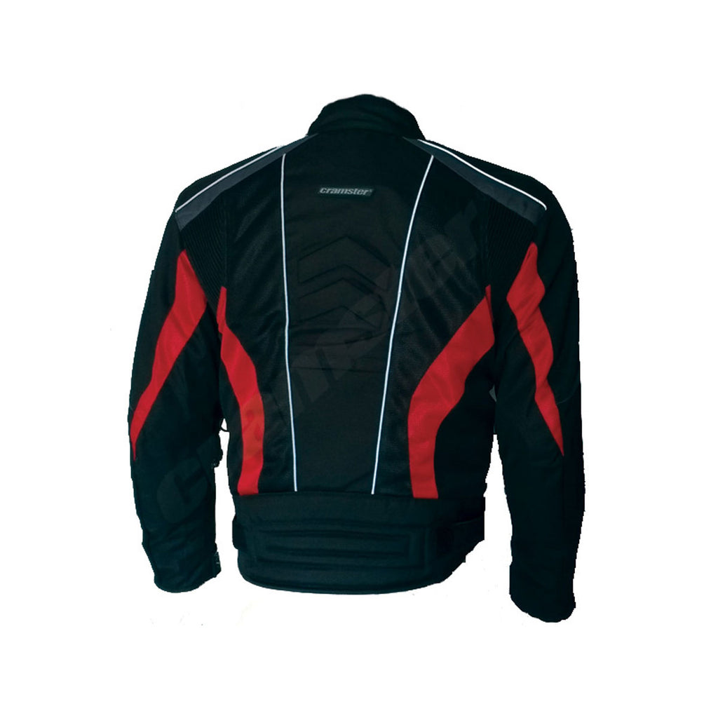 Breezer 4S - (3 IN 1) - Mesh Riding Jacket - Black/Red
