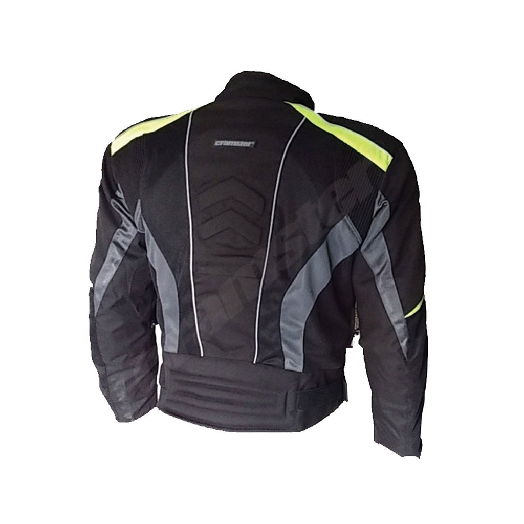 Breezer 4S - (3 IN 1) - Mesh Riding Jacket - Black/Green