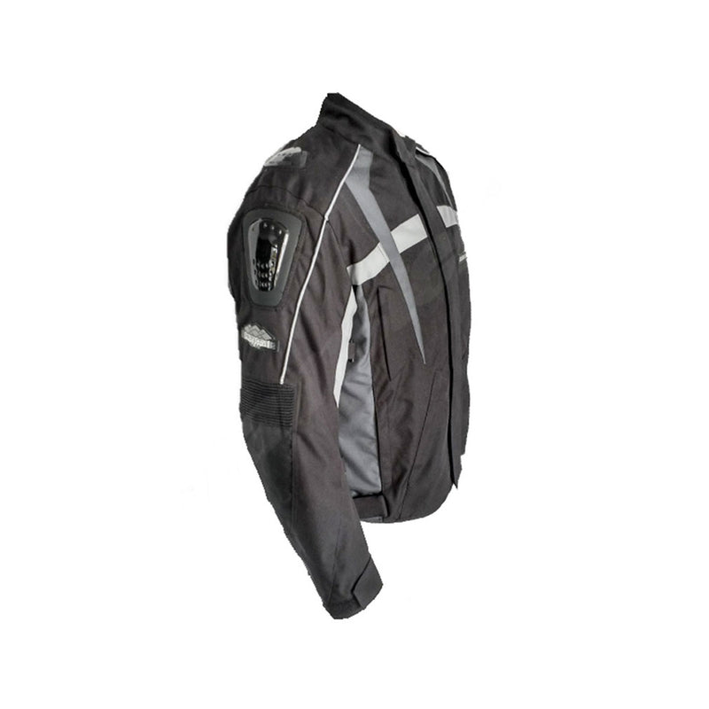 Raptor - Short Touring Jacket - Black/Grey