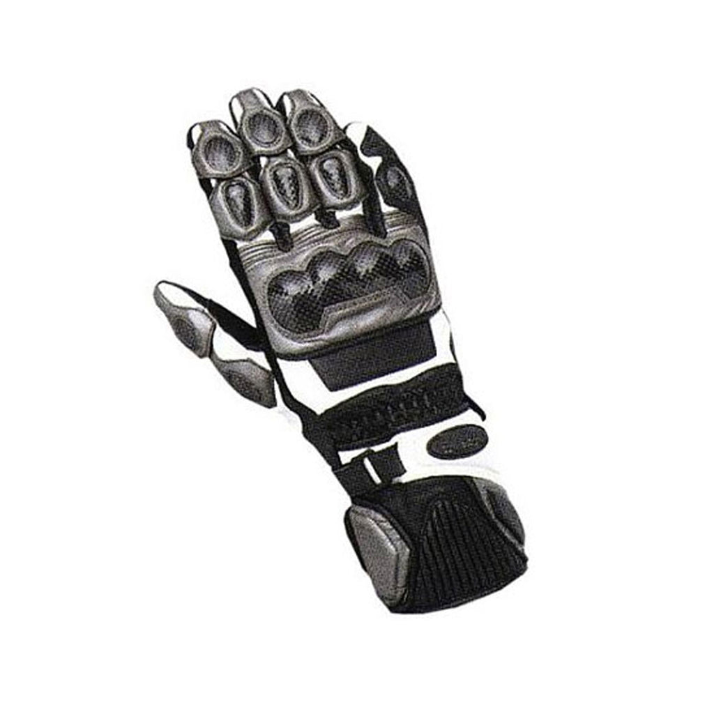 TRG2 - Full Gauntlet - Riding Gloves - Black/Grey