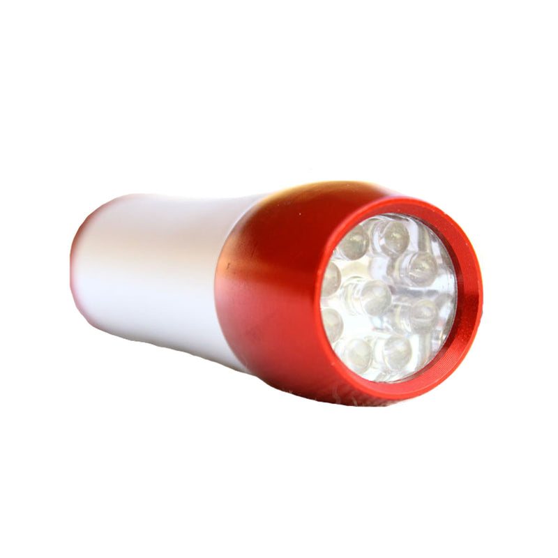 Torpedo LED Torch - Red