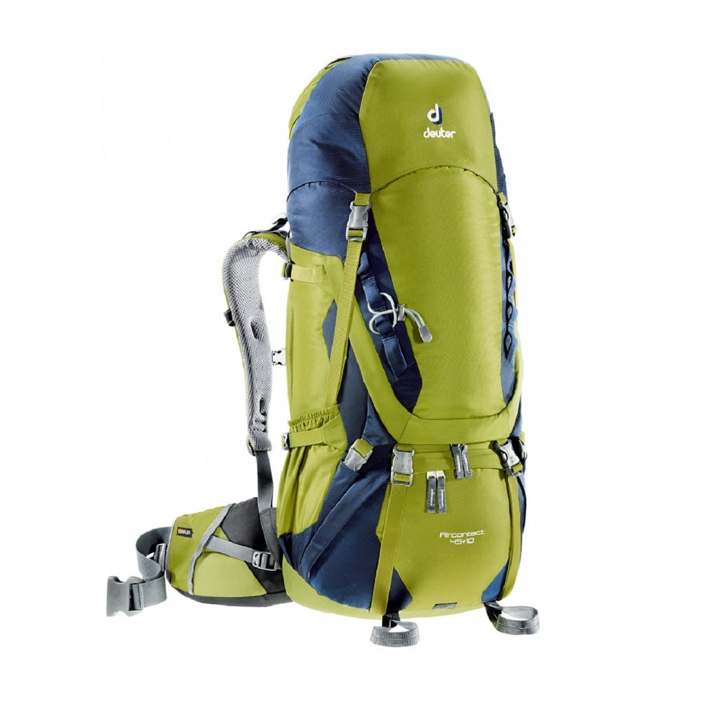 AirContact 45+10 Ltr Backpack - Moss-Navy