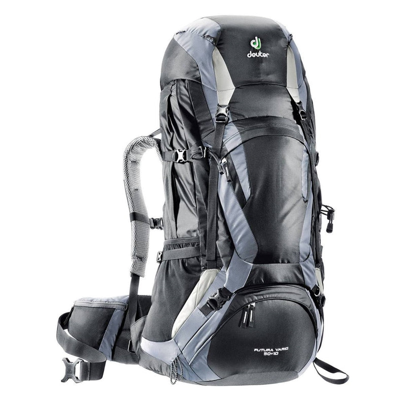 Futura Vario 50 + 10 Ltr Backpack - Black-Titan