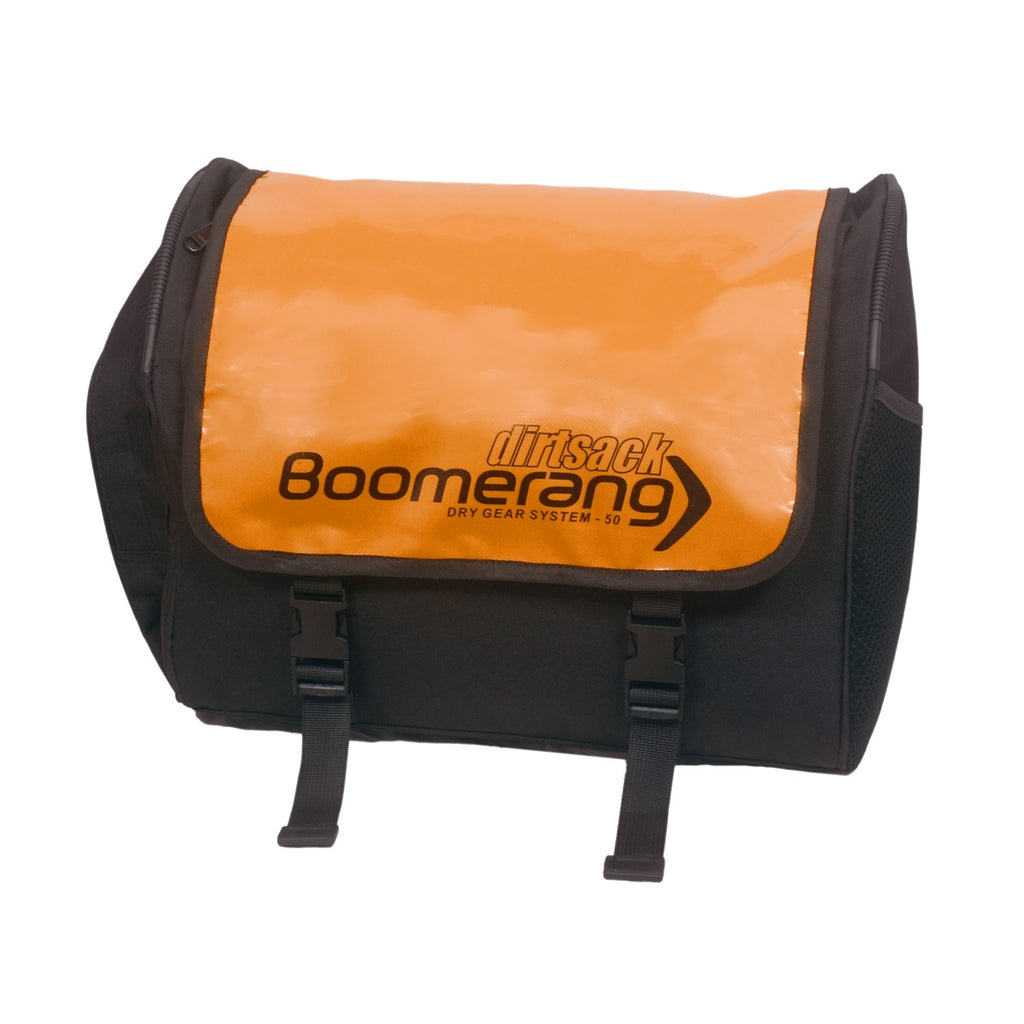 Boomerang Saddle Bags - Orange (All-weather)