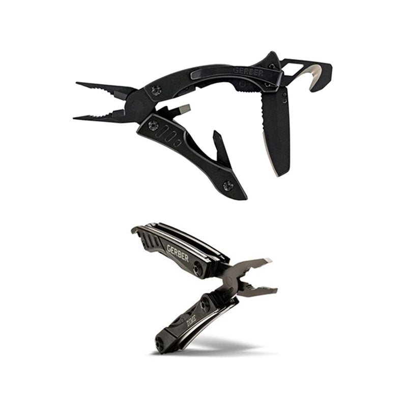 Crucial Pocket Multi-Tool & Dime Mini-Pocket Tool Combo - Black