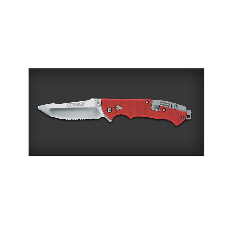 Hinderer Rescue - Serrated, Sheath - Tactical