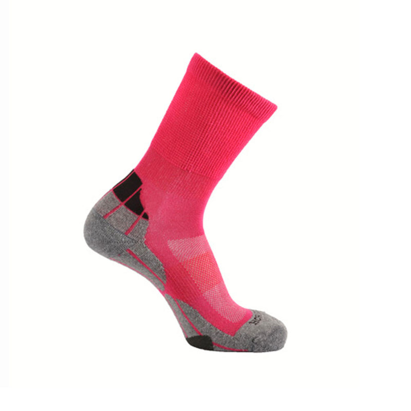 Coolmax® Hiker (Technical Socks) - Cerise/Grey/Charcoal