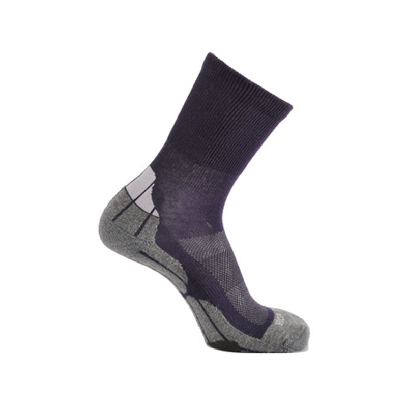 Coolmax® Hiker (Technical Socks) - Grape/Grey/Lilac
