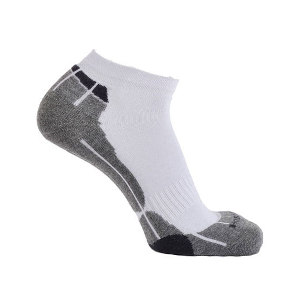 Technical Sport Trainer Socks - White/Grey/Charcoal