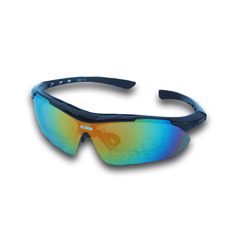 Goggles for Cycling & Outdoors - Santorini Black
