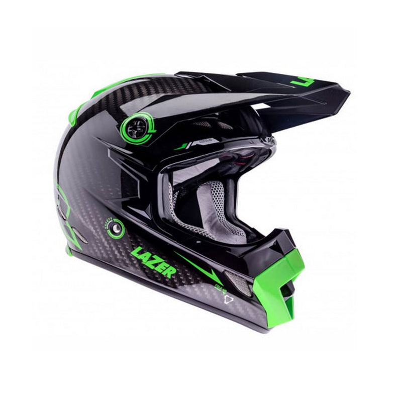 MX8 Pure Carbon Motocross Helmets - Gloss