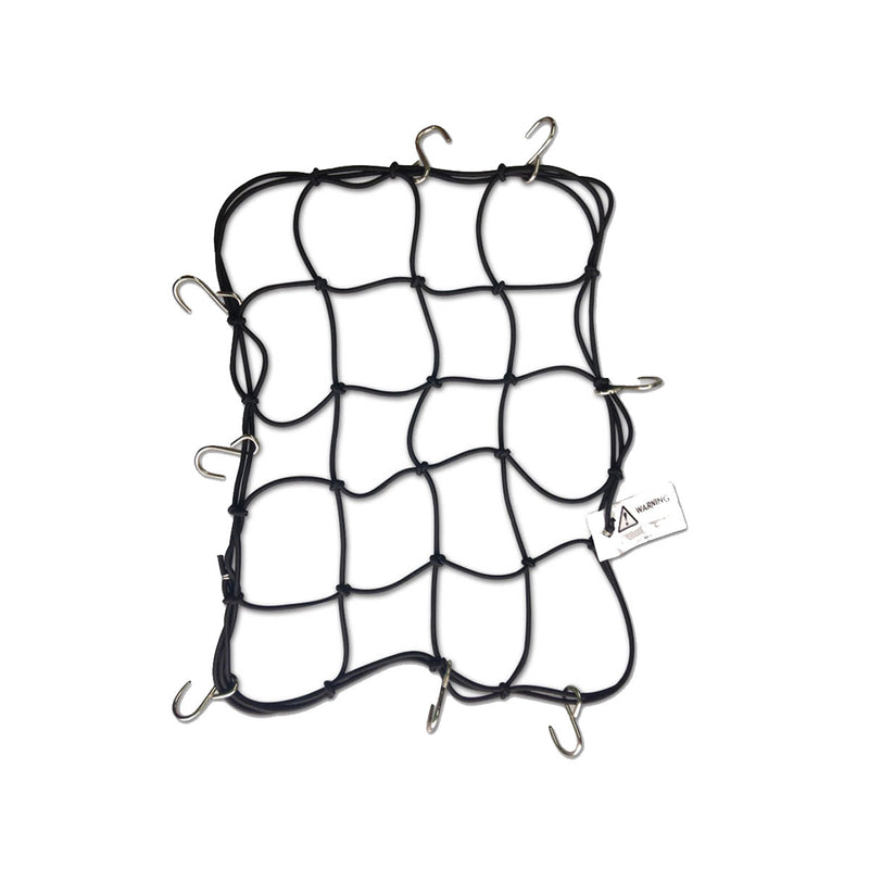 Metal Hook Bungee Net - 4mm