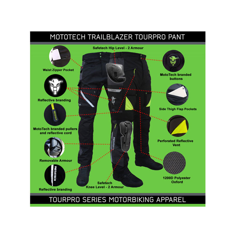 Trailblazer TourPro Riding Pant - Level 2