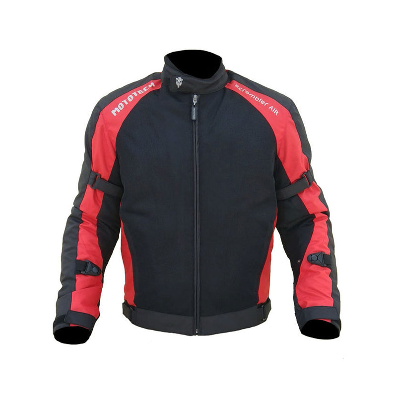 Scrambler Air Motorcycle Riding Jacket - Assorted Colours