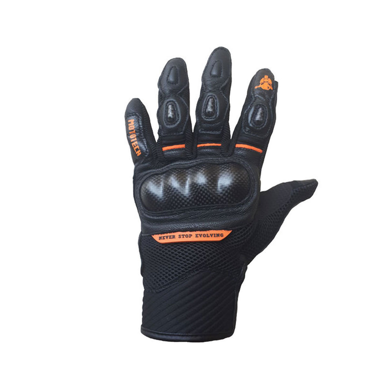 Urbane Short Carbon Gloves - Orange