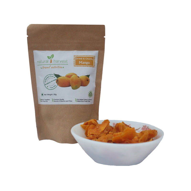 Dried and Chunky Mango - Biodegradable Pack