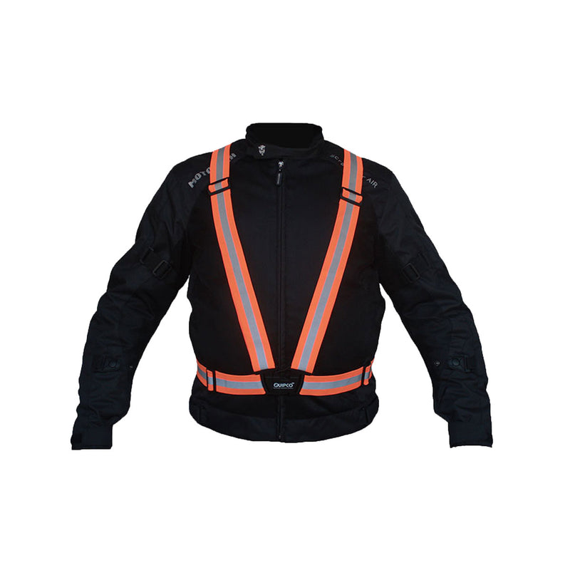 Flash Hi Viz Suspenders - Flourescent Orange