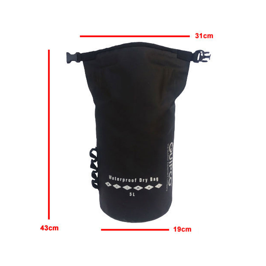 AquaShield Heavy Duty Waterproof Dry Bag - 5L