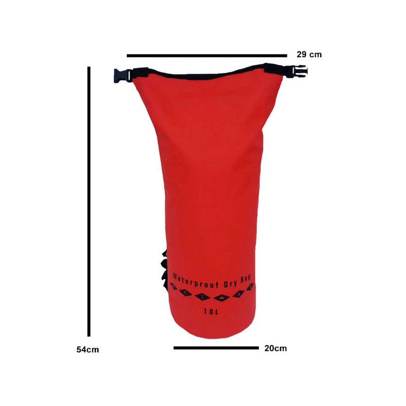 AquaShield Heavy Duty Waterproof Dry Bag - 10L