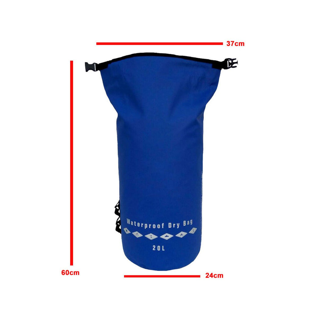 AquaShield Heavy Duty Waterproof Dry Bag - 20L