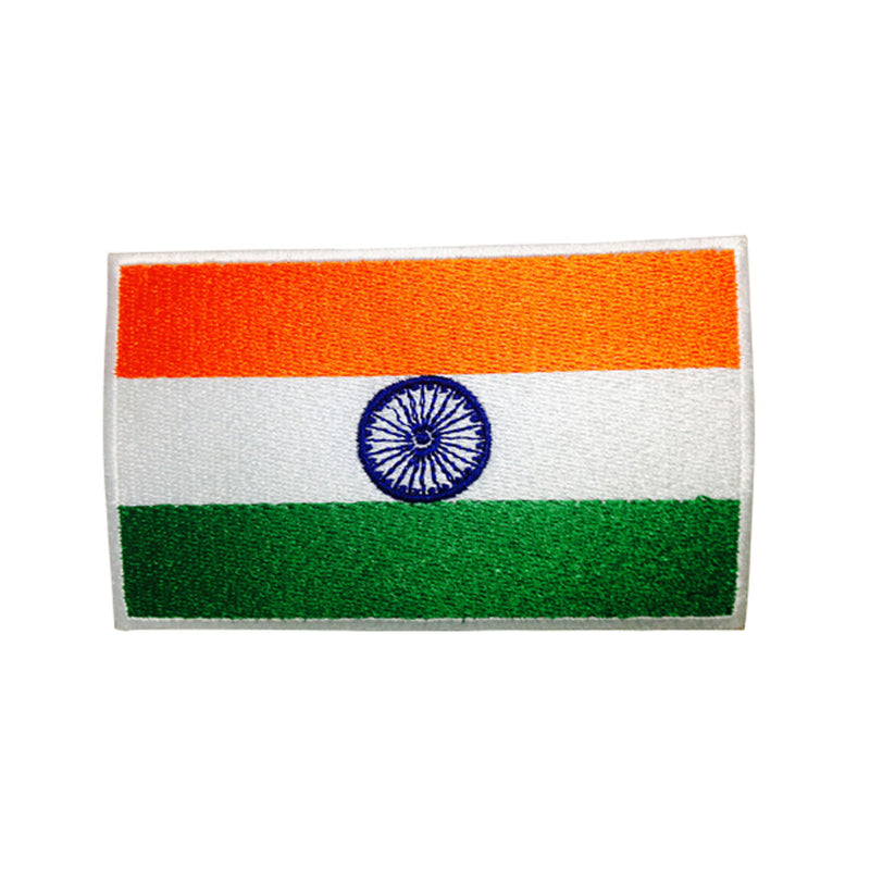 India Flag Patch - Embroidered