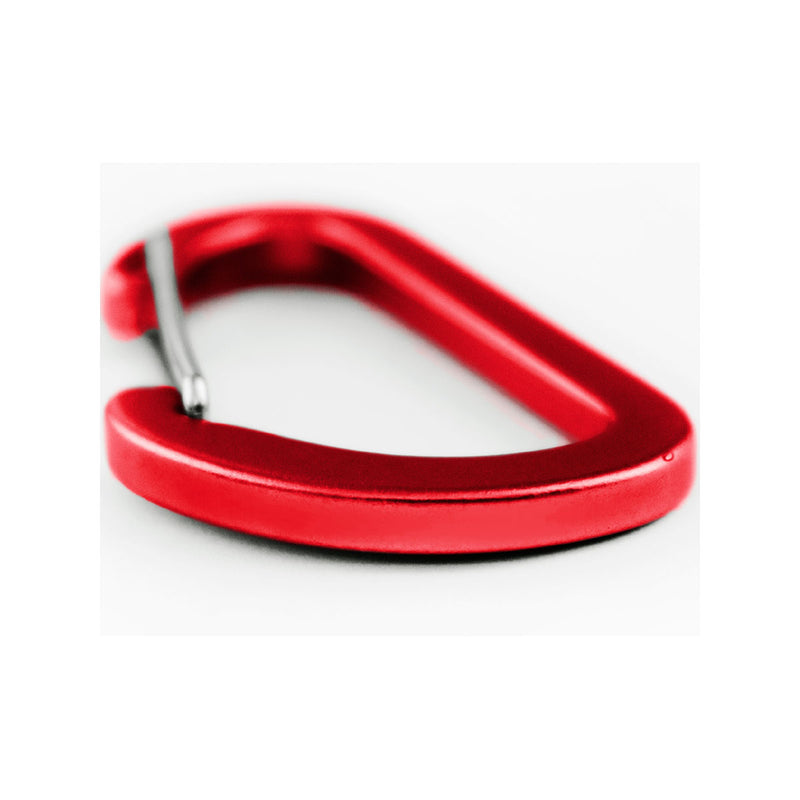 Matt Bauxite Accessory carabiner - 4cms - Red