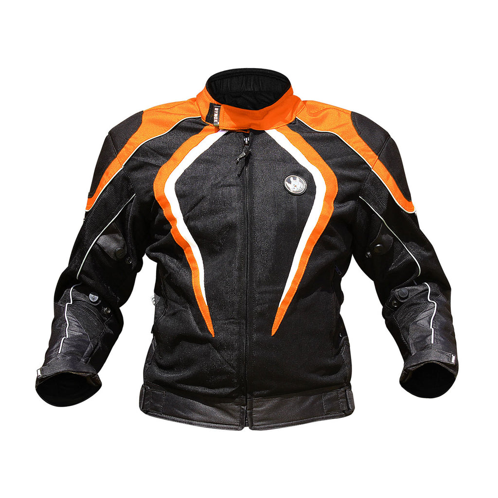 Tornado Pro Jacket L2 - Black+Orange