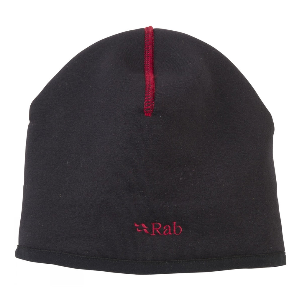 Powerstretch Winter Beanie - Black+Red