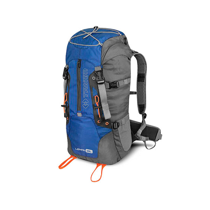 Leman 45L Backpack - Blue+Dark Grey