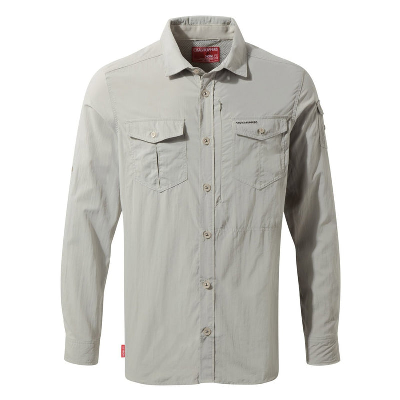 Nlife Adventure LS Shirt - Parchment