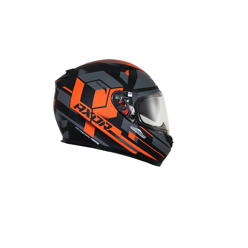 Stealth Crazy D/V - Dull Black Orange