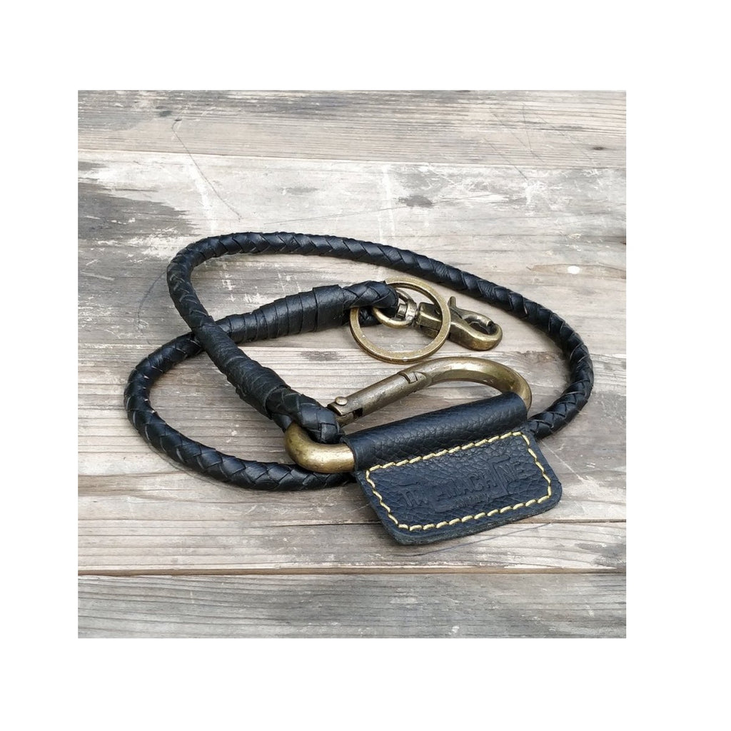 Braided Key Chain - Classic Black
