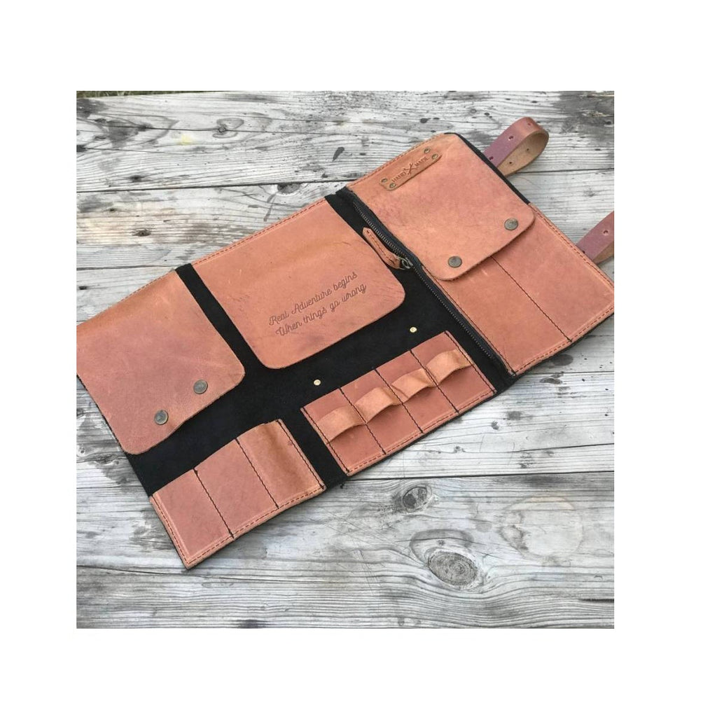 Tool Roll - Tan Black