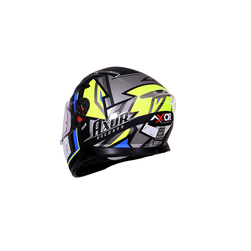 Apex Liberty D/V - Dull Black Neon Yellow