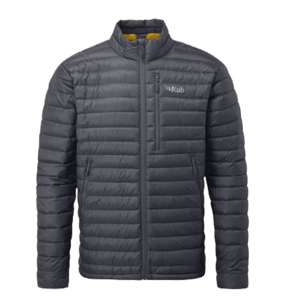 Microlight Down Jacket Beluga/Dijon