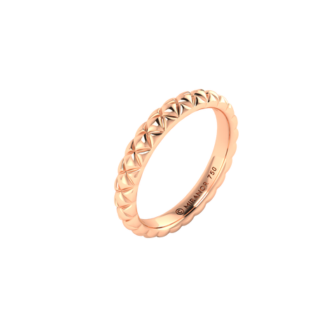 18 karat rose gold Butterscotch 3.0 ring
