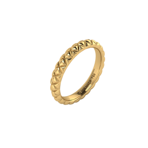 18 karat yellow gold Butterscotch 3.0 ring