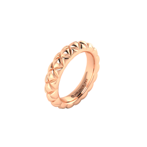 18 karat rose gold Butterscotch 5.5 ring