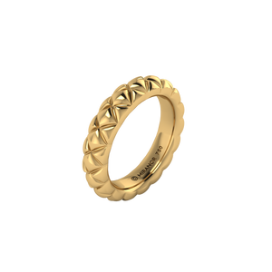18 karat yellow gold Butterscotch 5.5 ring
