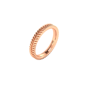 18 karat rose gold Sway 3.0 ring