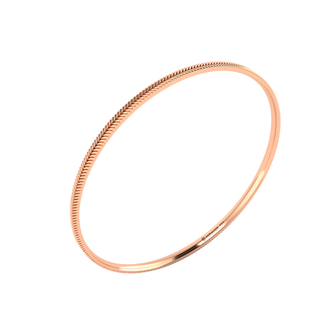 18 karat rose gold Sway 3.0 bangle