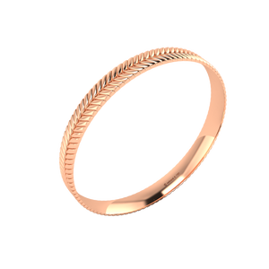 18 karat rose gold Sway 8.0 bangle